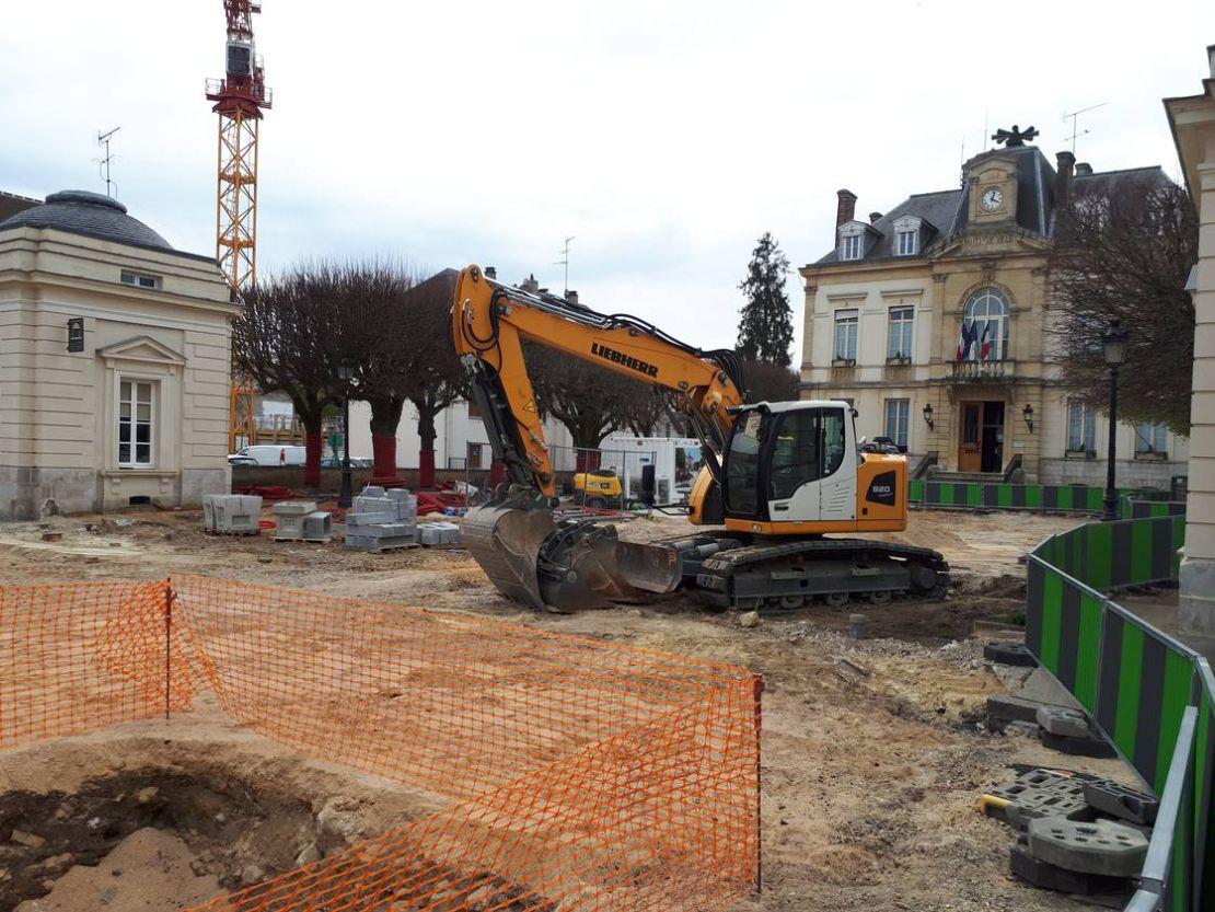 chantier mairie arpajon