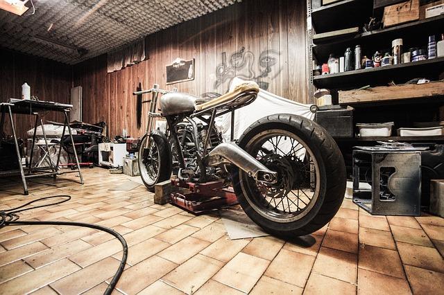 stockage de la moto